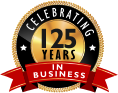 celebrating 125 years in business