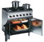 Lincat SLR9/N 6 Burner Natural Gas Oven Range