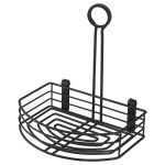 Black Wire Table Caddy 21.5cm x 15cm x 22.5cm