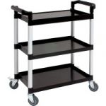 Compact Polypropylene 3 Tier Trolley