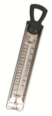 Kitchen Craft Home Made Deluxe Stainless Steel Cooking Thermometer