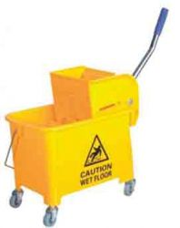 Yellow 20ltr Mop Bucket With Wringer
