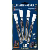 White Liquid Chalk Pens 2mm Round Tip
