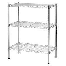 Heavy Duty Metal Chrome Wire Shelving/Racking Units