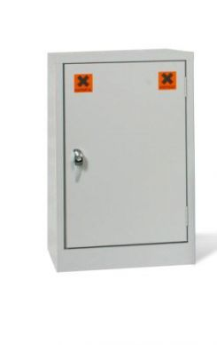 Grey Mini COSSH Cabinet 710mm H x 457mm W x 305mm D