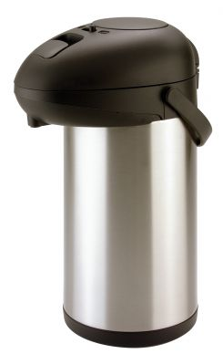 Stainless Steel Pump Flask Airpot 2.5 Litre