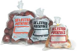 Polythene Potato Bags 1.5kg Capacity