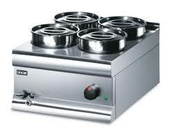 Lincat BS4W Bain Marie Wet Well 4 Pot Round