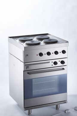 Parry NPEO1871 Electric Oven with N1871 Hob Top 2.9kW/7kW