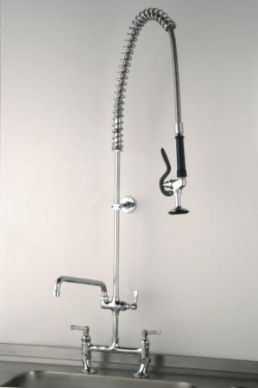 Deck Pre-Rinse Spray Arm With Faucet