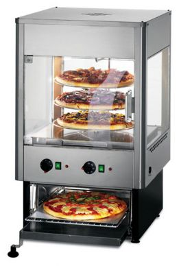 Lincat  UMO50D  Upright Heated Merchandiser with Oven