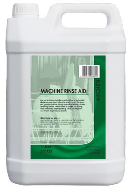 High Strength Machine Rinse Aid 5ltr