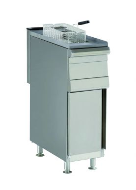Parry PGF Natural Gas Single Pedestal Fryer