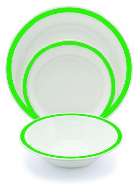 Harfield Polycarbonate Duo Plates 17cm (12 Pack)