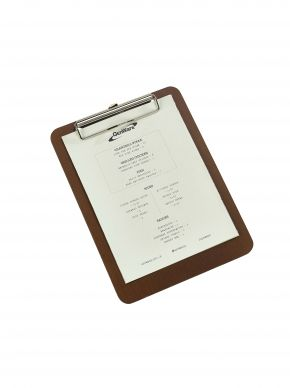 Wooden Menu Clipboard (A5)