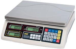 Stringer ASEP-6 Retail Scales 6kg Flat Plate
