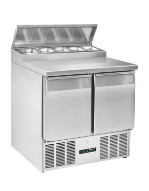 Blizzard BCC2EN-ECO Compact 2 Door Refrigerated Counter With Topper