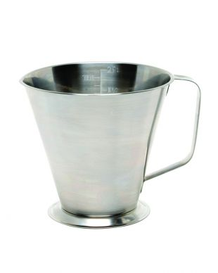 Stainless Steel Measure Jug 2 Pt (1Ltr)