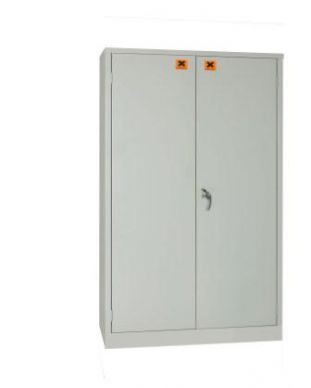 Grey COSSH Cabinet 1220mm H x 915mm W x 457mm D