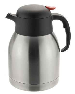 Stainless Steel Airpot Insulated Vacuum Thermos Flask Jug 1.5ltr
