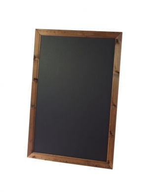 Framed Blackboard Oak Finish (936mm x 636mm)