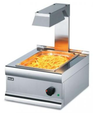 Lincat CS4/G Chip Scuttle with Overheated Gantry