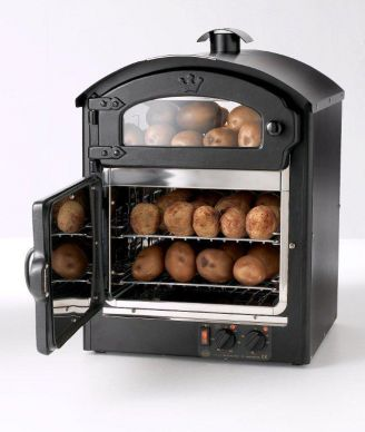 King Edward Classic 25 Black Potato Oven