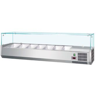 Polar Refrigerated Topping Unit 1500mm Wide