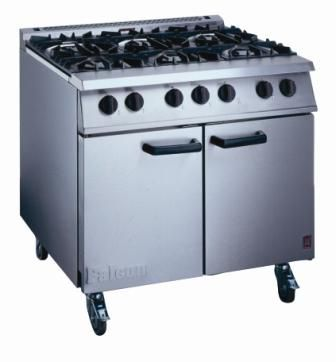 Falcon G3101 Dominator 6 Burner Nat Gas Oven Range
