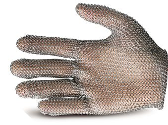 Chain Mail Mesh Glove Size Medium