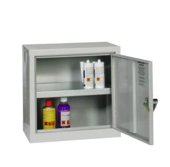 Grey Mini COSSH Cabinet 457mm H x 457mm W x 305mm D