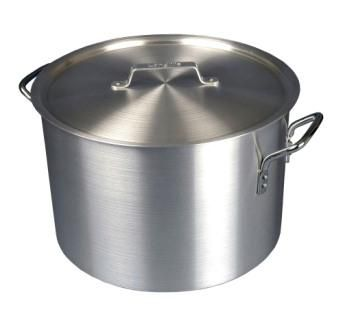Aluminium Boiling Pot With Lid (24.5 ltr)