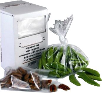 Clear Polythene Bags 12