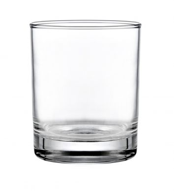 Genware Merlot Tumbler Glass 24cl (8.4oz) 85mm H x 71mm Dia (12 Pack)