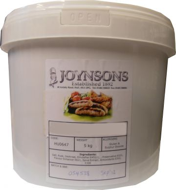 Great British Banger Sausage Seasoning (Tinted) 5kg
