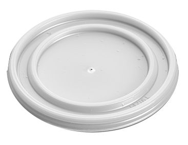 Lids For 8 oz White Polystyrene Cups/Tubs