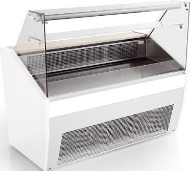 Valera Pronto FG 148 Flat Glass Serve-Over Refrigerated Counter 1480mm Wide