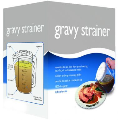 Kitchen Craft 1.5 Litre Gravy/Fat Separator and Measuring Jug