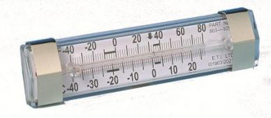 Fridge/Freezer Thermometer Clear Spirit Filled