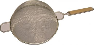 Bowl Strainer With Wood Handle Insert 26cm