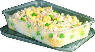 Microwaveable Container And Lid 650ml
