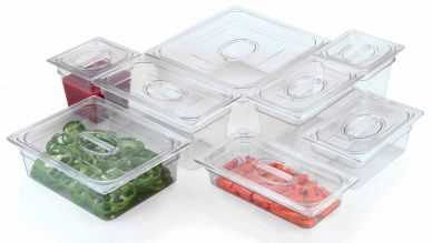 Clear Polycarbonate Lid For 1/6 Gastronorm