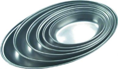 Stainless Steel Oval Serving Dish 175mm