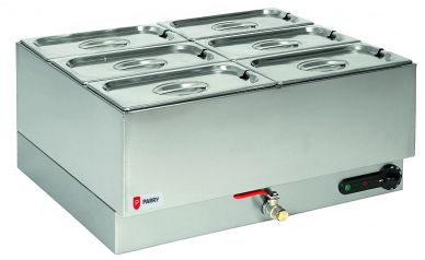 Parry 1985 Electric Double Wet Well Bain Marie 3kW