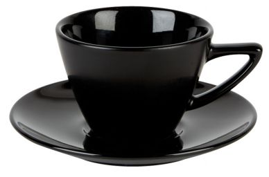 Simply Tableware Black Conic Cup 8oz (6 Pack)