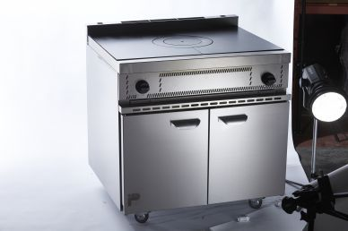 Parry USHO Natural Gas Solid Top Oven