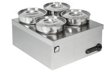 Parry Wet Well 4 Round Pot Bain Marie (3015)