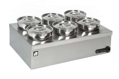 Parry Dry Well 6 Round Pot Bain Marie (1945)