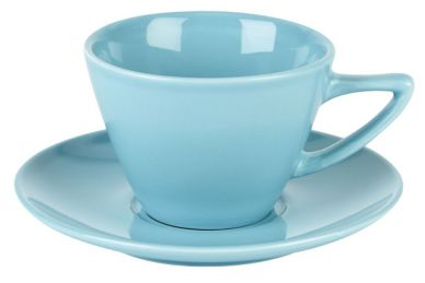 Simply Tableware Blue Conic Cup 8oz (6 Pack)