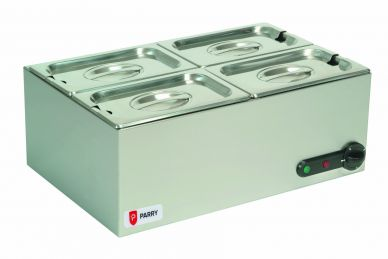 Parry GBM4 Electric Dry Well Bain Marie 400W